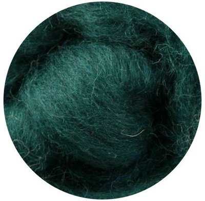 NZ Corriedale Wool Roving -- 22. Fir