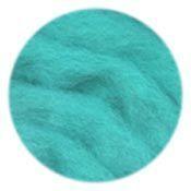 EcoSoft Wool Roving -- Aqua