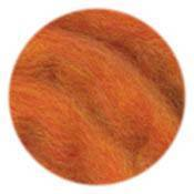 EcoSoft Wool Roving -- Flame