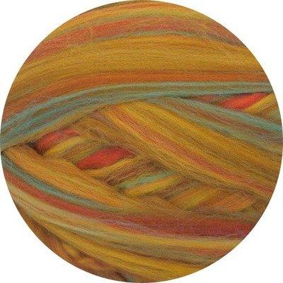 Merino Blended Color Wool Roving -- Goldenrod
