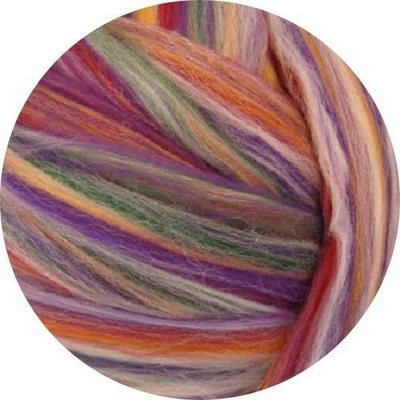 Merino Blended Color Wool Roving -- Rose Quartz