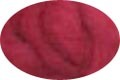 HomeSpun Carded Wool Roving -- Cranberry