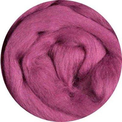 Fine Merino Wool Roving -- Berry