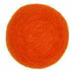 25-30mm Felt Bead -- 21. Orange
