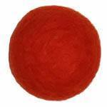 25-30mm Felt Bead -- 20. Red