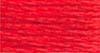 DMC #5 Pearl Cotton -- tomato