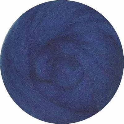 EcoSoft Wool Roving -- Blue
