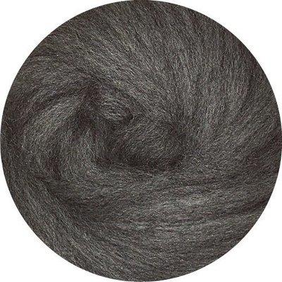 EcoSoft Wool Roving -- Slate