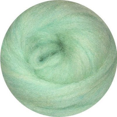 EcoSoft Wool Roving -- Spearmint