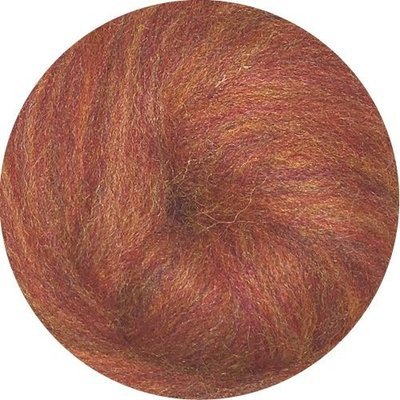 EcoSoft Wool Roving -- Spice