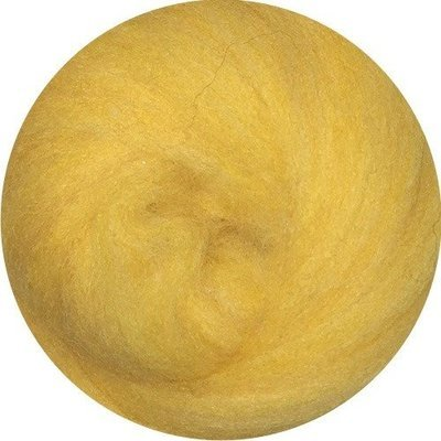 EcoSoft Wool Roving -- Sunflower
