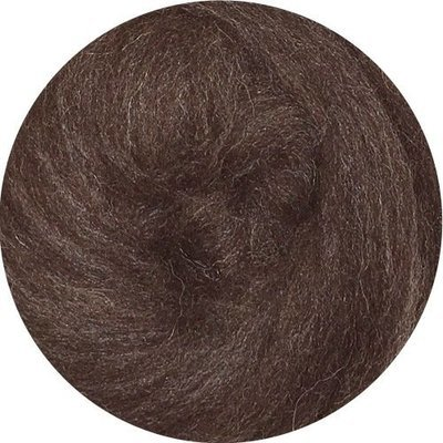 EcoSoft Wool Roving -- Walnut
