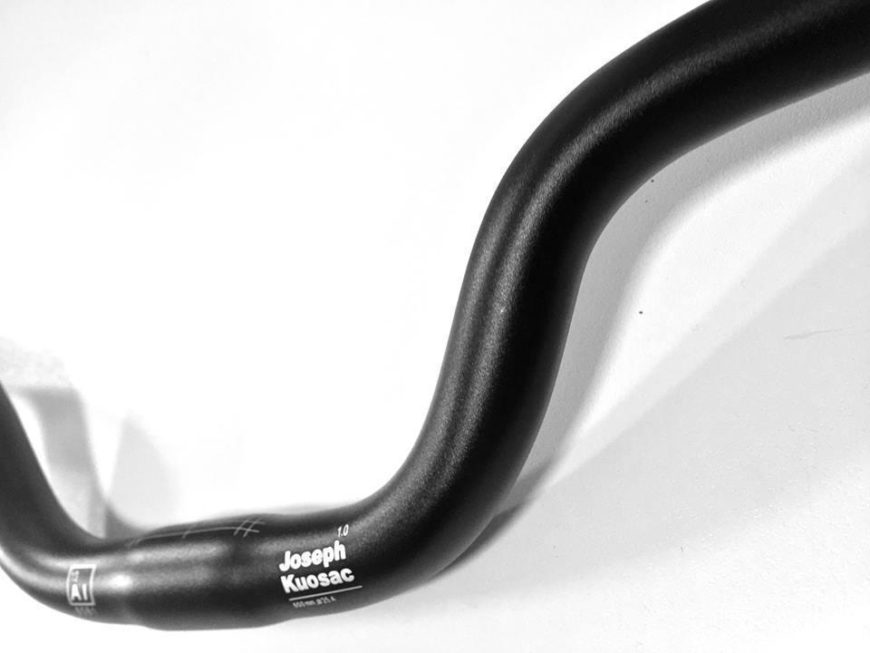 Joseph Kuosac Ergonomic Handlebar for Bromptons full Rise 25.4mm Black