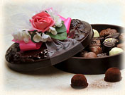 Floral Chocolate Candy Box Assortment