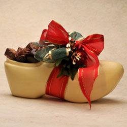 Chocolate Sabot (Wooden Shoe)