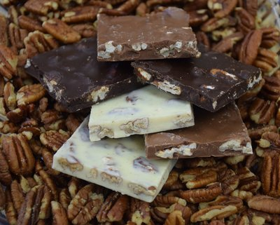 Sugar-Free Pecan Nut Bark