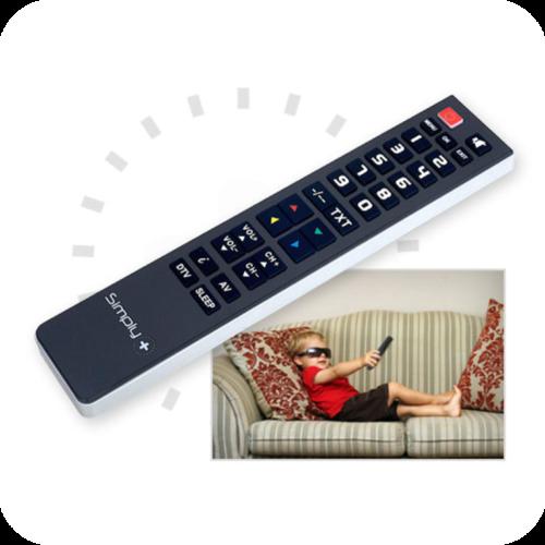 From 4,30€ Remote control Superior Simply+ 8054242080056-EN