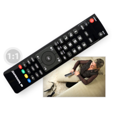 From 4,30€ Remote control Superior 1in1