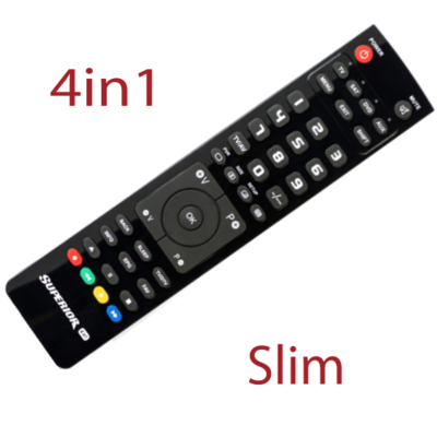 From 4,30€ Remote control Superior 4in1
