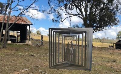 Australiana - Kookaburra 20cm - Stainless Steel & made in Australia