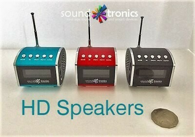MiNi - HiFi SPEAKER - Radio, Bluetooth and play your USB