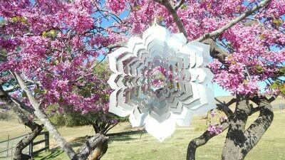 Aussie Spinners - Designer Contempo Collection - Crystal Mandala 30cm - Made in Australia
