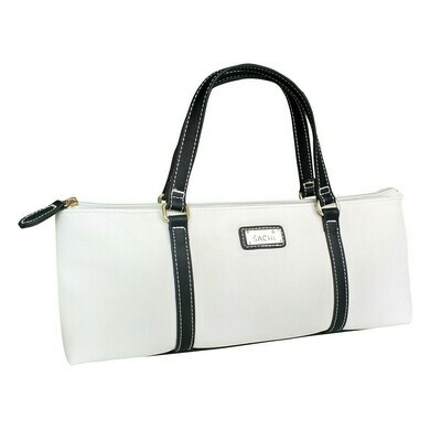 Handbag Insulated for Wine - White and Black - FREE POSTAGE