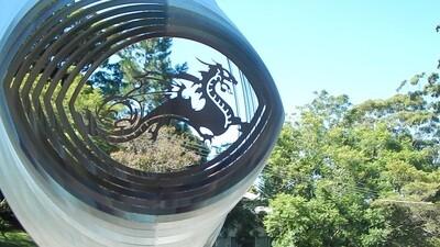 Designer Collection - Dragon 30cm - Made in Australia