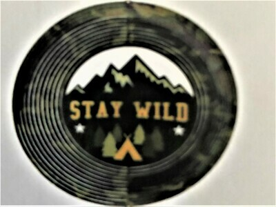 Classic Collection - Stay Wild 30cm