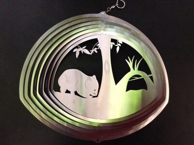 Australiana - Wombat 20cm - Stainless Steel & made in Australia