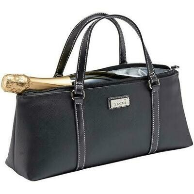 Handbag Insulated for Wine - Black FREE POSTAGE