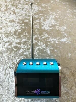 Portable MiNi - Blue HiFi SPEAKER - Radio, Bluetooth and play your USB - FREE Postage