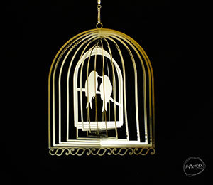 Designer Collection - Lovebirds 20cm - Made in Australia