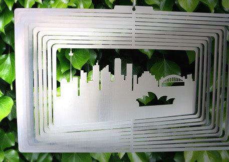 Australiana - Sydneyscape 20cm - Stainless Steel & made in Australia