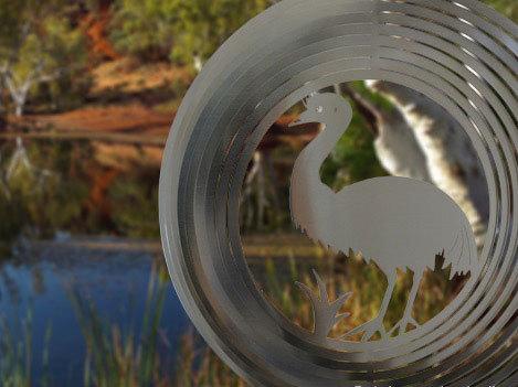 Australiana - Emu 20cm - Stainless Steel & made in Australia