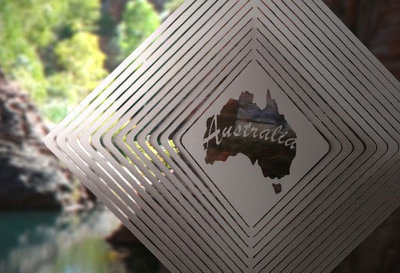 Australiana - Australia Map - Stainless Steel & made in Australia