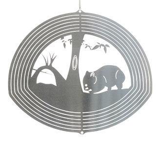 Australiana - Wombat 20cm - Stainless Steel & made in Australia