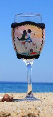 Undies Wine Glass Cooler