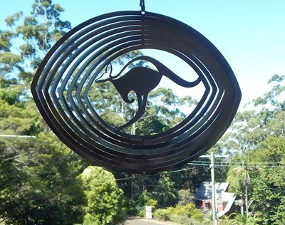 Australiana - Kangaroo 20cm - Stainless Steel & made in Australia