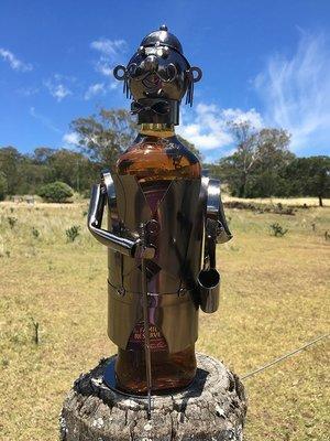 Nuts & Bolts - Golfer Wine Bottle Holder