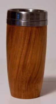 Threaded Stainless Coffee Mug Insert (Woodturning)   Kit