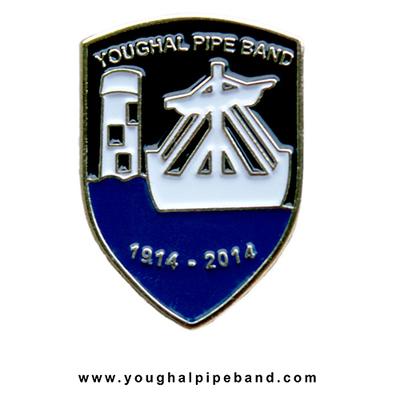 100 Years Lapel Pin Badge