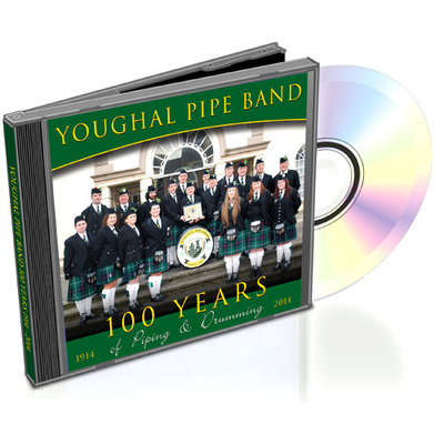 Youghal Pipe Band 100 Years - CD