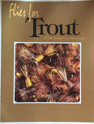 Flies For Trout  by Stewart and Allen (Used In Good Shape)