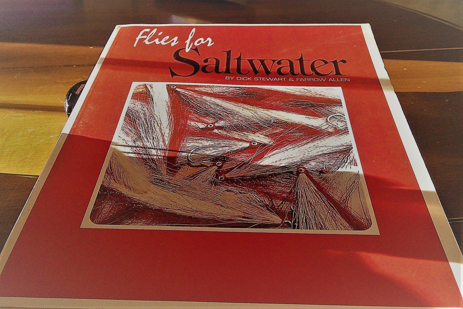 Flies for Saltwater    Stewart & Allen  Soft Cover (Used)