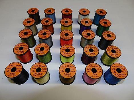 Uni 6/0 Thread 200 yards Waxed