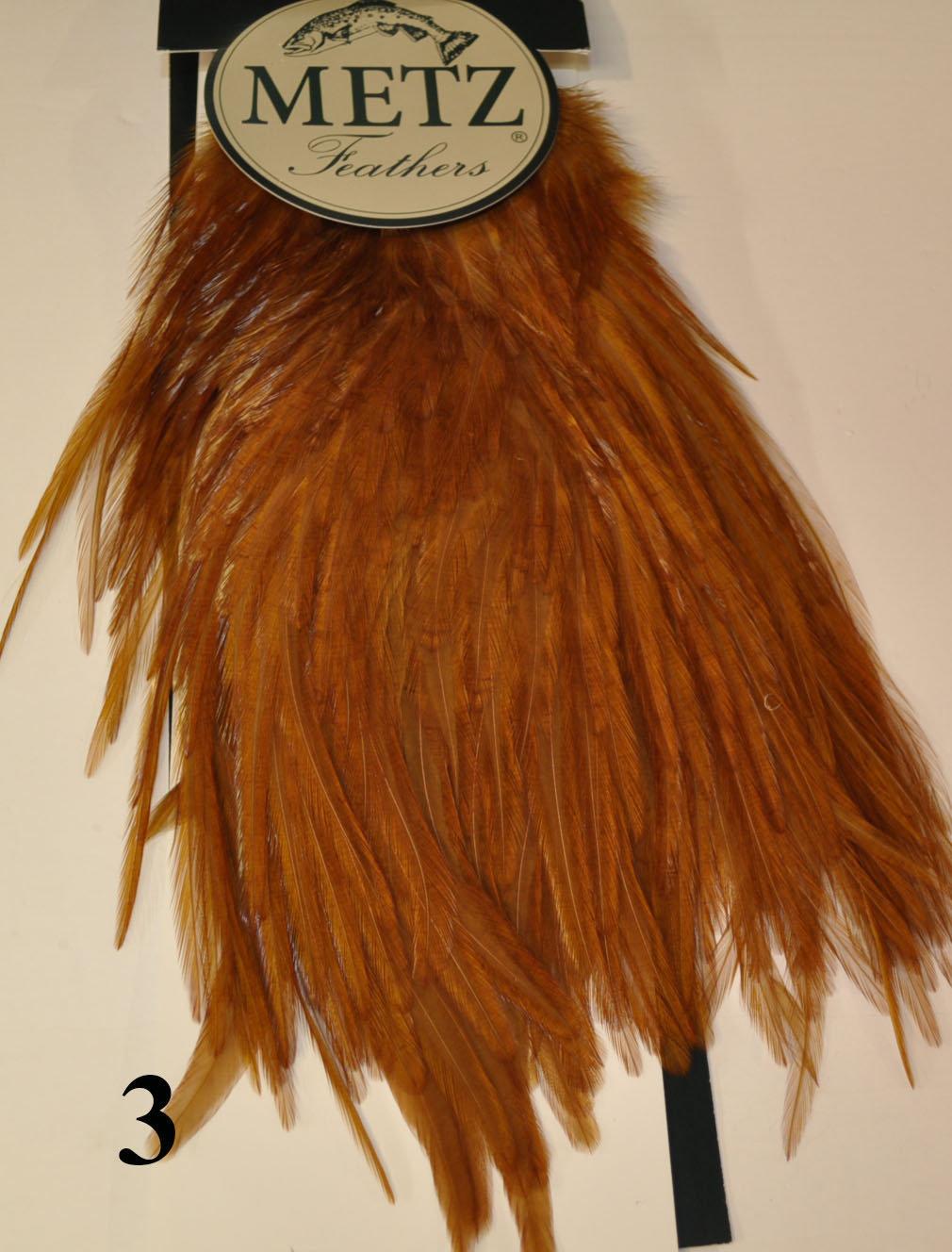 Metz Magnum Medium Brown Cock Saddle