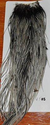 Metz #2 Cock Saddle Silver Badger