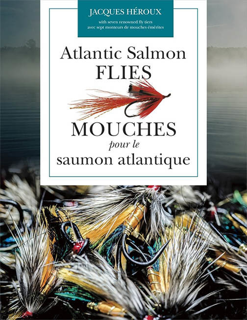 Atlantic Salmon Flies by Jacques Heroux