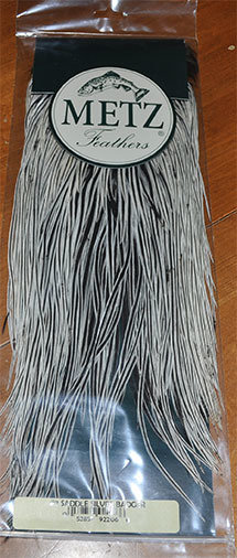Metz Silver Badger Saddle Grade 2 (Ties Size #10 to #12
